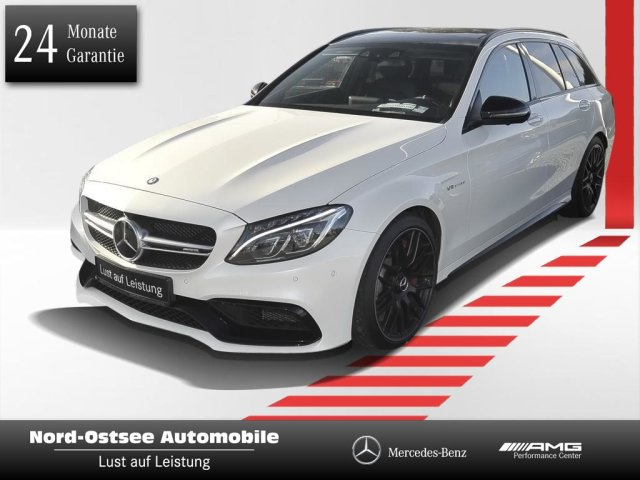Mercedes-Benz C63 AMG S T Driver P Distronic Panorama Night