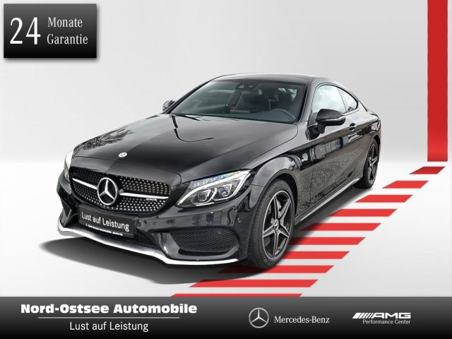 Mercedes-Benz C 43 AMG Coupé Panorama LED Keyless Perfo Abgas