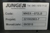JUNGE Pritsche + Plane