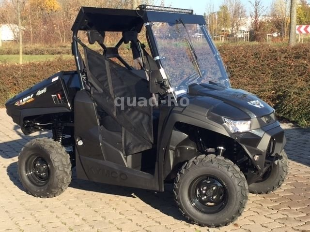 kymco uxv 450 i turf 4x4 mit lof dach scheibe optional. Black Bedroom Furniture Sets. Home Design Ideas